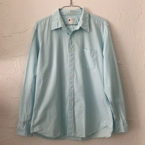 J. Crew Men's Tailored Fit Button Up Shirt